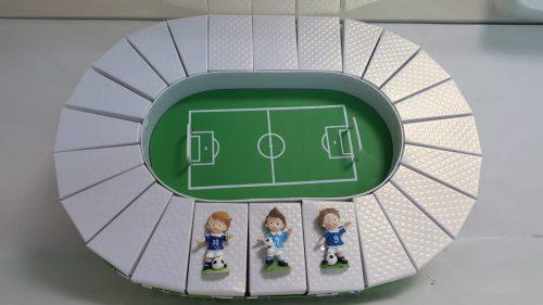 Calamite su campo da calcio  calciatori nazionale italiana