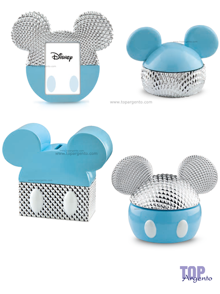 Disney silver colors Prima Infanzia Celeste