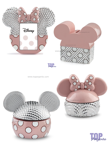 Disney silver colors Prima Infanzia Rosa
