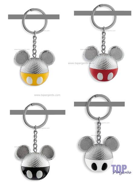 Disney silver colors Portachiavi Disney