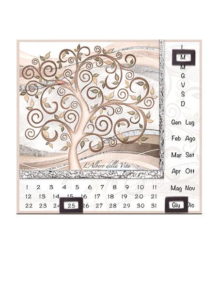 Calendario Casa Reale