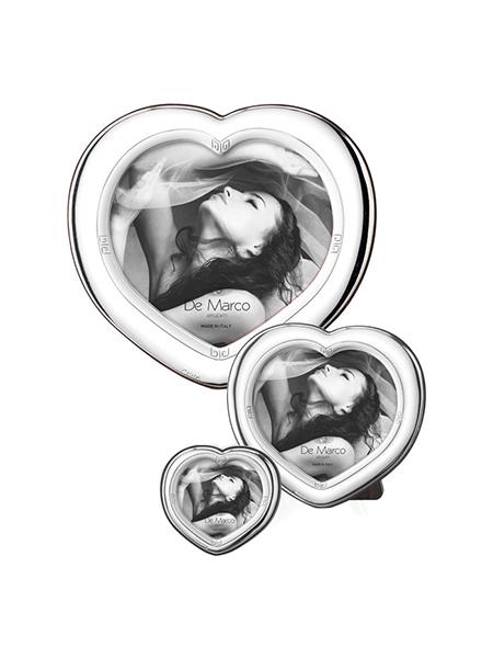 cornici argento cuore