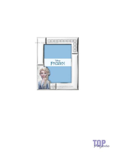 Valenti & co. Disney Cornice Argento Frozen Elsa