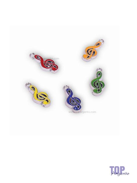 Greenford Ciondoli Mini Chiave di Violino Mix