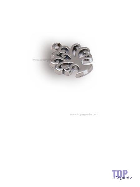 Greenford Ciondolo Mini Albero della Vita Chrome