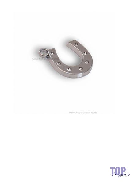 Greenford Ciondolo Mini Ferro di Cavallo Chrome