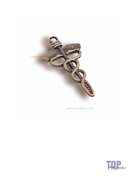 Greenford Ciondolo Caduceo Bronze