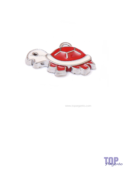 Greenford Ciondolo Mini Tartaruga Rossa