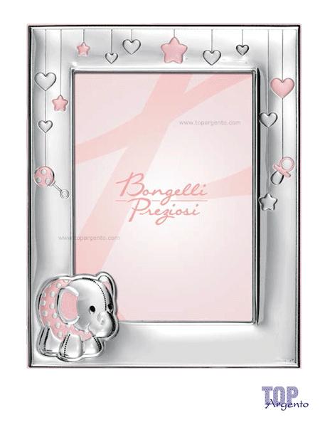 Bongelli Preziosi Cornice Album Set Pappa Elefante Rosa