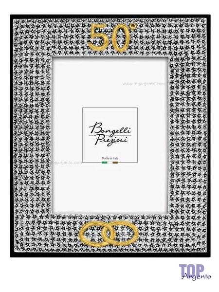 Bongelli Preziosi Cornice Anniversario 50° Fiori di Pesco