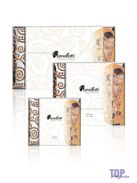 """Camilletti Linea Quadri """"Il Bacio"""" Klimt Decorata"""