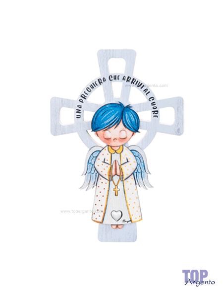 Bongelli Preziosi Croce Angelo Celeste