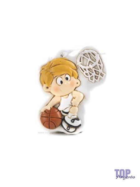 Paben Bambino Basket Maglia Bianca