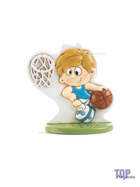 Paben Bambino Basket Maglia Azzurra