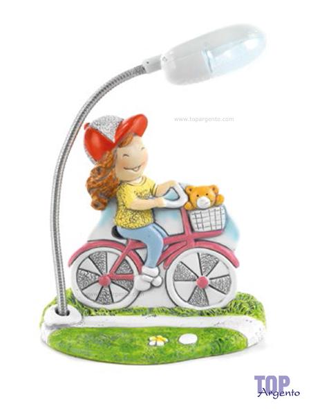 Paben Bambina Bicicletta con Luce Led