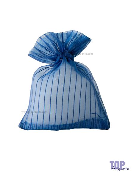 Etm Sacchetti Lilia Bag Righe Blu
