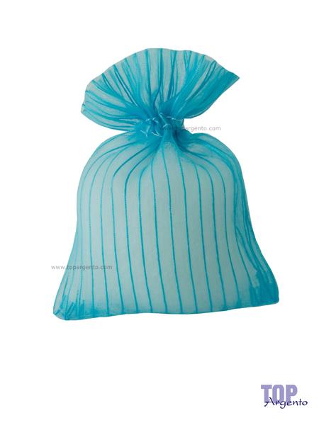 Etm Sacchetti Lilia Bag Righe Tiffany