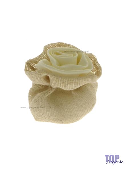 Etm Sacchetti Jade Bag Rosa Crema