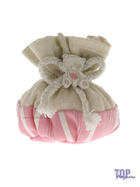 Etm Sacchetti Bella Bag Palla Rosa