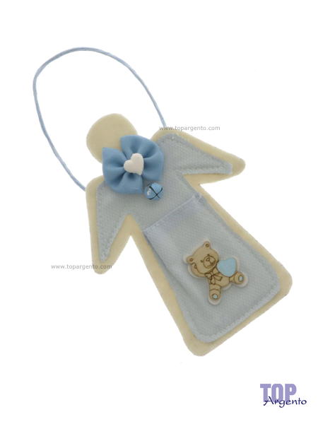 Etm Sacchetti Angel Bag Portaconfetti Celeste