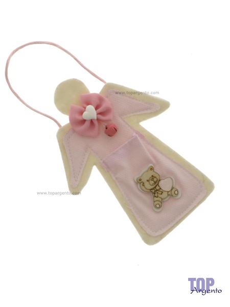 Etm Sacchetti Angel Bag Portaconfetti Rosa