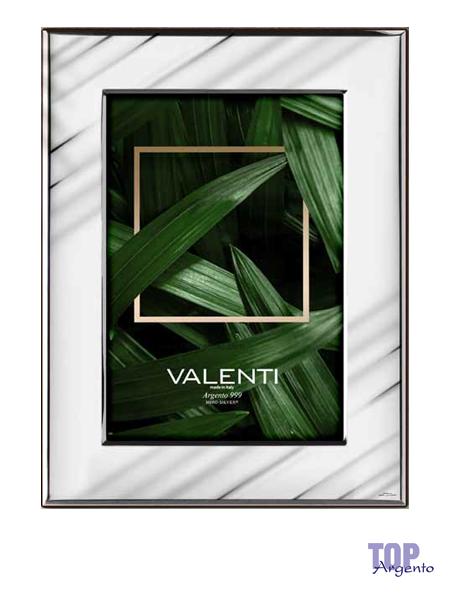 Valenti Argenti Cornice Lucida Onde 9×13
