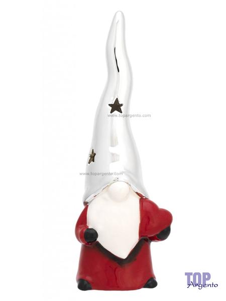 Bagutta Argenti Profumatore Diffusore Babbo Natale Cuore Cappello