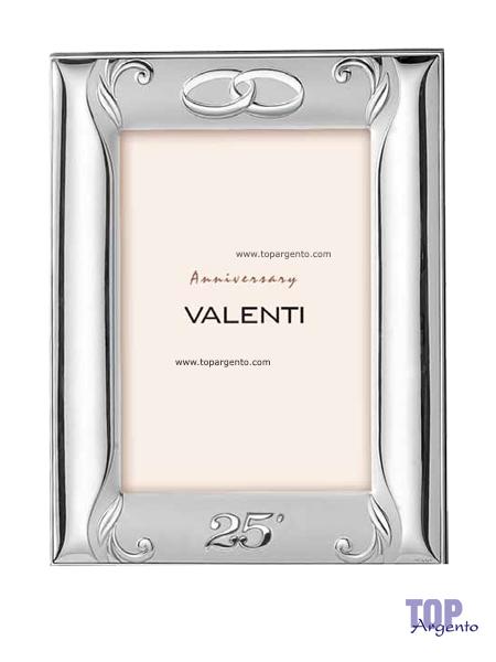 Valenti Argenti Cornice Satinata Nozze Argento 18×24