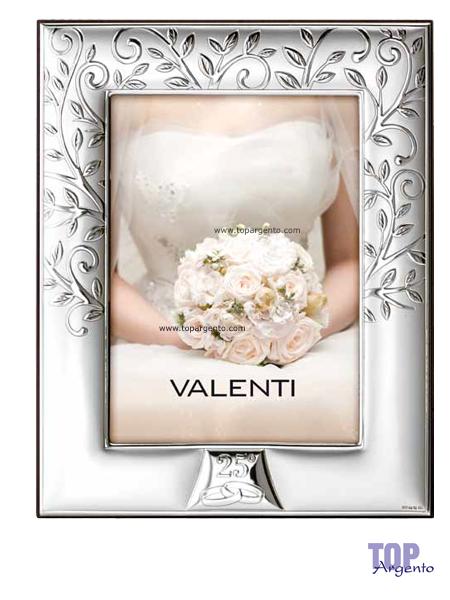 Valenti Argenti Cornice Albero della Vita Nozze Argento 18×24